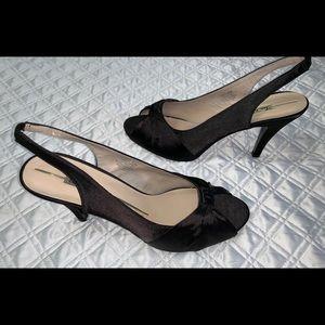 Sam & Libby Sling Back Heels Sz 8.5